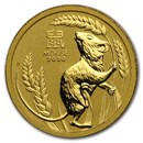 2020 Australia 1/10 oz Gold Lunar Mouse BU (Series 3)